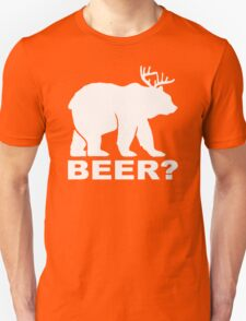 Bear Deer BEER humor T-Shirt