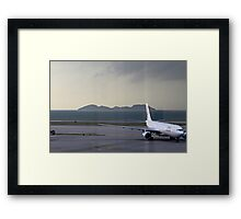 Dragon Air A330 Hong Kong  Framed Print