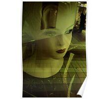 Mannequins, reflets Poster