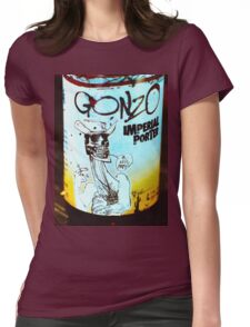gonzo porter yum... Womens Fitted T-Shirt
