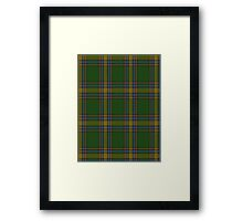00105 Alberta District Tartan  Framed Print