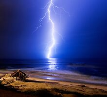 ELECTRIC SHACK #1 - La Jolla, California by Anthony Ghiglia