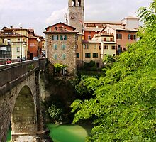 Ponte del Diavolo by Karen  Rubeiz
