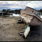 Old Boat - Tuncurry by Mike Buick