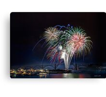 """Fireworks"" Canvas Print"