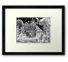 Warm Against the Night Framed Print