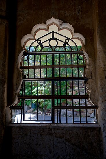 Window at Elephant Temple, Sydney by Chris Westinghouse