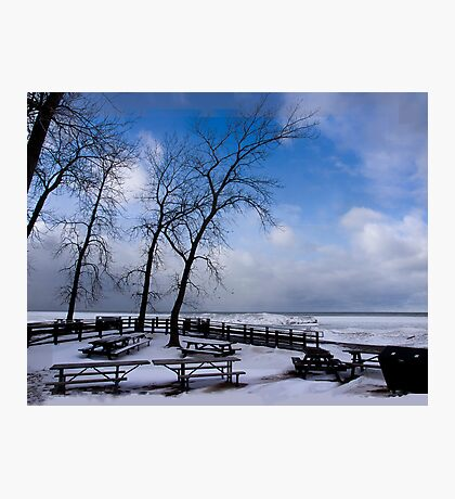 Waiting For Summer - Erie, PA Photographic Print