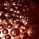 red bubbles by katpartridge