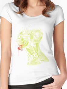 Zombie Fed Women's Fitted Scoop T-Shirt