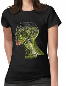 Zombie Fed Womens Fitted T-Shirt