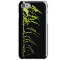 Shaft of light in the forest iPhone Case/Skin