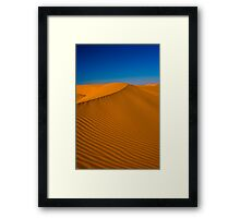 Glamis Dunes Framed Print