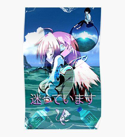 Ikaros Vaporwave Poster