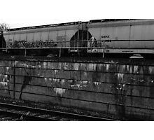Colorless Graffiti Photographic Print