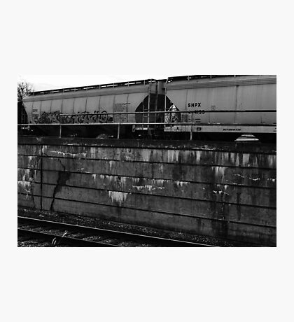 Colorless Graffiti Photographic Print