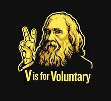 Lysander Spooner Voluntaryism Mens V-Neck T-Shirt
