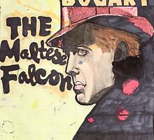 THE MALTESE FALCON - LARGE FORMAT  by Scott Stebbins