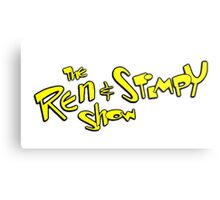 The ren and stimpy show Metal Print