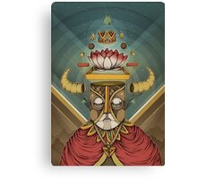 Hell Lotus Canvas Print