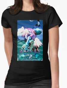 Ikaros Vaporwave Womens Fitted T-Shirt
