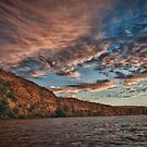 Sunset on the River by Craig Hender