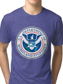 Department of Homeland Stupidity Tri-blend T-Shirt