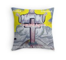Coming Again Throw Pillow