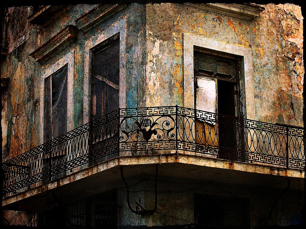 balcony, Havana by olga  hutsul