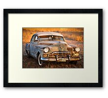 Old Cadillac Framed Print