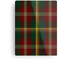 00109 Maple Leaf District Tartan  Metal Print