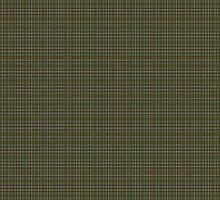 00110 Cape Breton (yellow stripes) District Tartan  by Detnecs2013