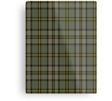 00110 Cape Breton (yellow stripes) District Tartan  Metal Print