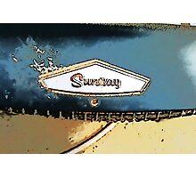 Sunray heater Photographic Print