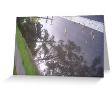 Beautiful Puddles - Palm Cove FNQ Greeting Card