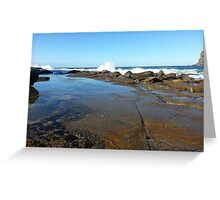 Little Beach NSW Central Coast 2 Greeting Card