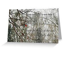 Songbirds Greeting Card