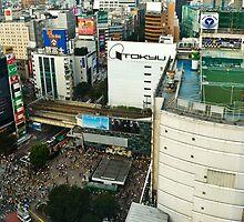 Shibuya crossing by diamond-tokyo