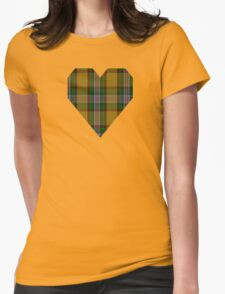 00111 Essex County (Ontario) Tartan Womens Fitted T-Shirt