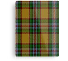 00111 Essex County (Ontario) Tartan Metal Print