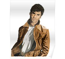 Leather Jacket Poster