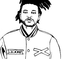 The weeknd by grvblord