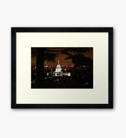 San Francisco Glow 20x30 Framed Print