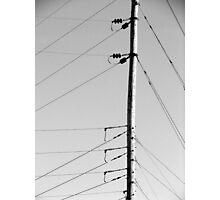 Communication Lines Photographic Print