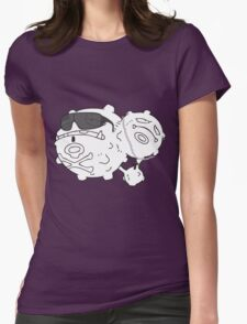 Weezing & Yandel Womens Fitted T-Shirt