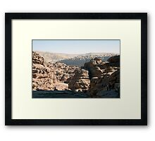 View on the way to the Monastery Framed Print