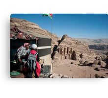 Best view in Petra Canvas Print