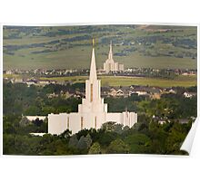 Temples Dot the Land 20x30 Poster