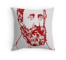 Henry David Thoreau Throw Pillow