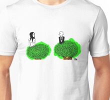 a guy and a girl in a tree Unisex T-Shirt
